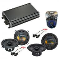 Compatible with GMC Yukon XL 2012-2014 Factory Speaker Replacement Harmony R65 R5 & CXA360.4 Amp