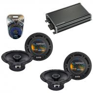 Compatible with Nissan Versa 2007-2013 Factory Speaker Replacement Harmony (2) R65 & CXA360.4