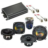 Compatible with Mazda 626 1986-1987 Factory Speaker Replacement Harmony R4 R5 & CXA360.4 Amp