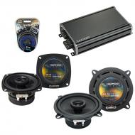 Compatible with Toyota Paseo 1992-1995 Factory Speaker Replacement Harmony R4 R65 & CXA360.4 Amp