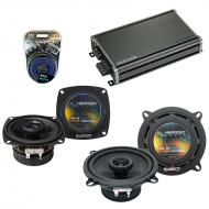 Compatible with Toyota Tercel 1980-1982 Factory Speaker Replacement Harmony R4 R5 & CXA360.4 Amp