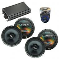 Compatible with Infiniti FX35-FX45 2003-2008 OEM Speakers Replacement Harmony (2) C65 & CXA360.4