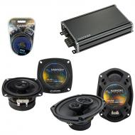 Compatible with Infiniti Q45 1990-1996 OEM Speaker Replacement Harmony R4 R69 & CXA360.4 Amp
