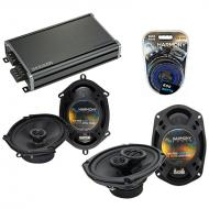 Compatible with Mazda Prot??g?? 01-04 OEM Speaker Replacement Harmony R68 R69 & CXA360.4 Amp