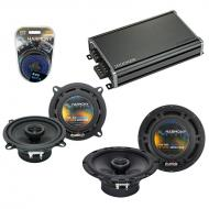Compatible with Mercedes M-Class 98-07 OEM Speaker Replacement Harmony R65 R5 & CXA360.4 Amp