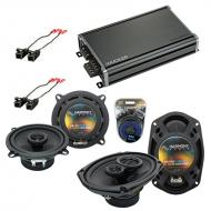 Compatible with Cadillac Seville 1992-1995 OEM Speaker Replacement Harmony R5 R69 & CXA360.4 Amp