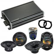 Compatible with Mini Cooper 2002-2006 OEM Speaker Replacement Harmony R65 R69 & CXA360.4 Amp