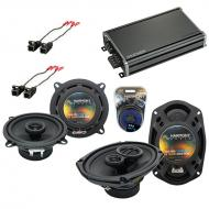 Compatible with Oldsmobile Ninety-Eight 1994-1996 OEM Speaker Replacement Harmony & CXA360.4 Amp