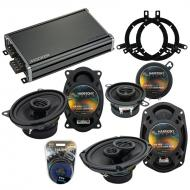Compatible with Plymouth Breeze 1996-1999 OEM Speaker Replacement Harmony R35 R69 & CXA360.4 Amp