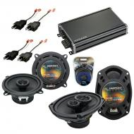 Compatible with Plymouth Turismo 1983-1987 OEM Speaker Replacement Harmony R5 R69 & CXA360.4 Amp