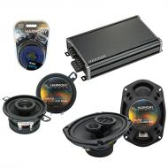 Compatible with Plymouth Volare 1976-1980 OEM Speaker Replacement Harmony R35 R69 & CXA360.4 Amp