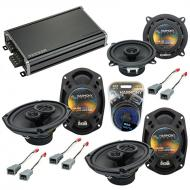 Compatible with Plymouth Voyager 1996-2000 OEM Speaker Replacement Harmony R5 R69 & CXA360.4 Amp