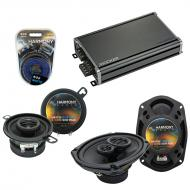 Compatible with Pontiac Sunbird 1982-1988 OEM Speaker Replacement Harmony R35 R69 & CXA360.4 Amp