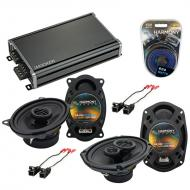 Compatible with Pontiac Sunfire 2000-2005 OEM Speaker Replacement Harmony R46 R69 & CXA360.4 Amp