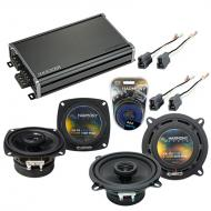 Compatible with Toyota Tercel: Deluxe 83-86 OEM Speaker Replacement Harmony R4 R5 & CXA360.4 Amp