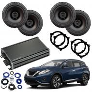 Compatible with Nissan Murano 2015-2018 Factory Speaker Replacement Harmony R65 CXA360.4