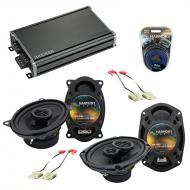 Compatible with Chevy Celebrity 1984-1990 OEM Speaker Replacement Harmony R46 R69 & CXA360.4 Amp