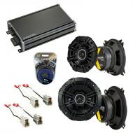 Compatible with Audi 400 Series 1980-1987 Factory Speaker Replacement Kicker DSC4 DSC5 & CXA3...