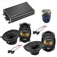 Compatible with Chevy Impala SS 1994-1996 OEM Speaker Replacement Harmony R46 R69 & CXA360.4 Amp