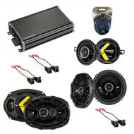 Compatible with Buick Regal 1984-1987 Factory Speaker Replacement Kicker DS Series & CXA360.4