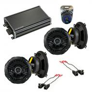 Compatible with Chevy Venture Van 1997-2005 Factory Speaker Replacement Kicker (2)DSC5 & CXA3...