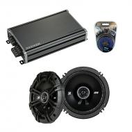 Compatible with Chrysler Prowler 1997-2002 Factory Speaker Replacement Kicker (2)DSC65 & CXA3...