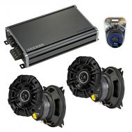 Compatible with Chevy Sprint: ER/Turbo 85-88 Speaker Replacement Kicker (2) DSC4 & CXA360.4 Amp