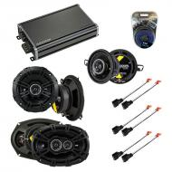 Compatible with Chrysler LHS 1995-1998 Speaker Replacement Kicker DS Package & CXA360.4 Amp
