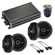 Compatible with Oldsmobile Silhouette 97-04 Speaker Replacement Kicker DS Series & CXA360.4 Amp