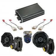 Compatible with Toyota Corolla 4 dr/Wagon 1993 Factory Speaker Replacement DSC4 DSC5 & CXA360.4