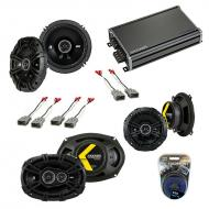 Compatible with Acura RL 2005-2013 Factory Speaker Replacement Kicker DS Series & CXA360.4