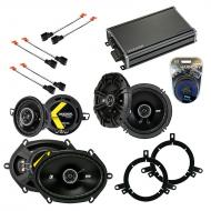 Compatible with Chrysler PT Cruiser 01-05 Speaker Replacement Kicker DS Package & CXA360.4 Amp