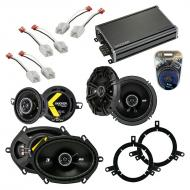 Compatible with Chrysler PT Cruiser 05-10 Speaker Replacement Kicker DS Package & CXA360.4 Amp