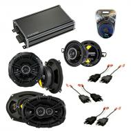 Compatible with Chrysler Yorker 84-93 Speaker Replacement Kicker DS Package & CXA360.4 Amp