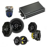 Compatible with Saab 9000 Series 1986-1998 Speaker Replacement Kicker DS Series & CXA360.4 Amp