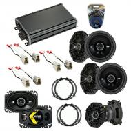 Compatible with Volkswagen Golf 1994-1998 Speaker Replacement Kicker DS Package & CXA360.4 Amp