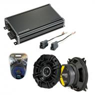 Compatible with Mitsubishi Mighty Max 87-96 Speaker Replacement Kicker KSC4 & CXA360.4 Amp