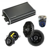Compatible with Pontiac TransSport APV 1990-1992 Speaker Replacement Kicker DS & CXA360.4 Amp