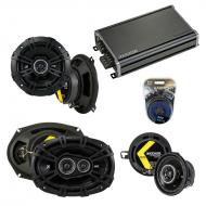 Compatible with Chrysler Concorde 1993-1997 Speaker Replacement Kicker DS Package & CXA360.4 Amp