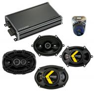 Compatible with Mazda Prot??g?? 01-04 Speaker Replacement Kicker DSC68 DSC693 & CXA360.4 Amp