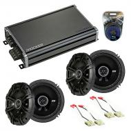 Compatible with Saturn SL1/SL2/Sport Coupe 1991-1999 Speaker Replacement Kicker DS & CXA360.4...