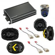 Compatible with Toyota Camry Wagon 1992-1996 Speaker Replacement Kicker DS Series & CXA360.4 Amp