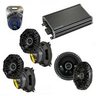 Compatible with Toyota Land Cruiser 1993-1996 Speaker Replacement Kicker DS Series & CXA360.4...