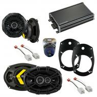 Compatible with Dodge Ram Truck 1500 2002-2008 Factory Speaker Replacement DS & CXA360.4 Amp