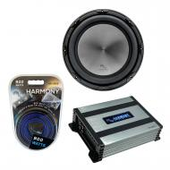 "Harmony Audio HA-A152 Car Stereo Alloy Series 15"" Sub 1500W Subwoofer Bundle with HA-A400.1 ..."