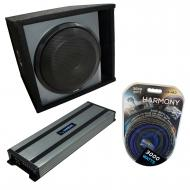 """Universal Car Stereo Paintable Ported 12"""" Alpine Type X X-W12D4 Sub Box Enclosure with Harmo..."""