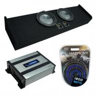 """Compatible with 2009-2020 Ford F-150 Super Crew Truck Harmony R124 Dual 12"""" Loaded Sub Box B..."""