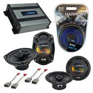 Compatible with Acura CL 1997-2003 Factory Speaker Replacement Harmony R65 R69 & Harmony HA-A...