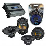 Compatible with Acura RDX 2007-2016 Factory Speaker Replacement Harmony R65 R69 & Harmony HA-...