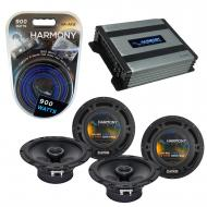 Compatible with Acura RSX 2002-2006 Factory Speaker Replacement Harmony (2) R65 & Harmony HA-...